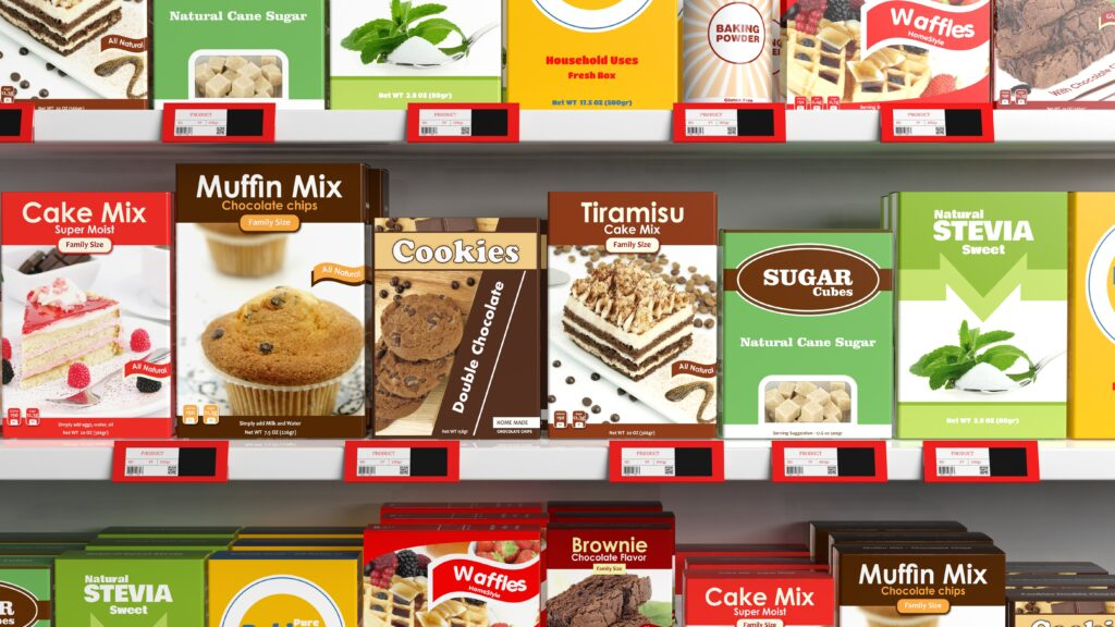 Packaging per alimenti